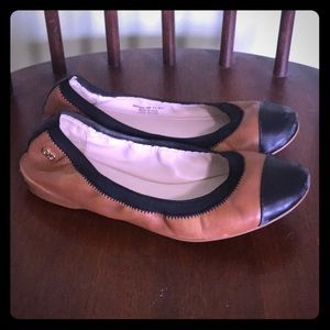 Cole Haan leather ballet flats